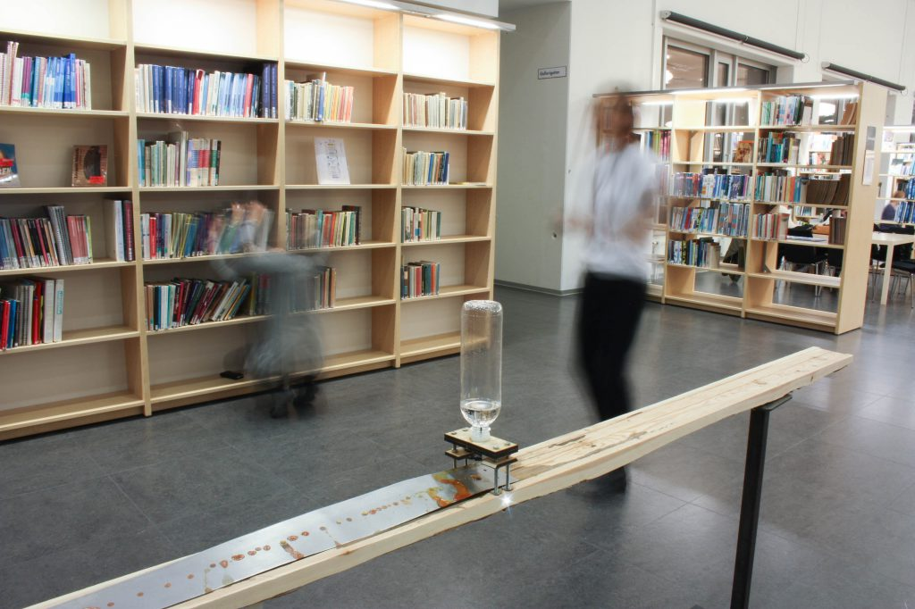 The Everyday Ephemeral installed at the Orkanen Library